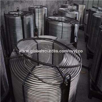 China China Product SGS-approved Ferro Calcium Cored Wire