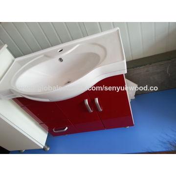 China Bathroom Vanity From Manufacturer Shouguang Senyue Wood - High low bathroom vanity