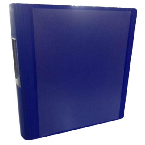 hong kong sar file folder blue 1 inch letter size with world wide i