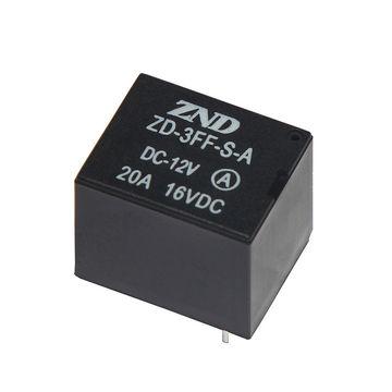 China ZD3FF(T73) 20A 12V 4 Pin Silver Contact Automotive Relay