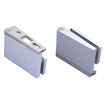 Taiwan Glass Door Top And Bottom Aluminum Pivot Hinge With Adjustable Base  Plate ...