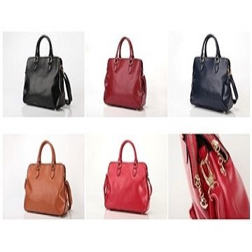 0006c7ee172c United Kingdom Luxury 3 Compartment Tote Leather Ladies Handbag