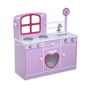 Wooden Toddler Play Kitchen China