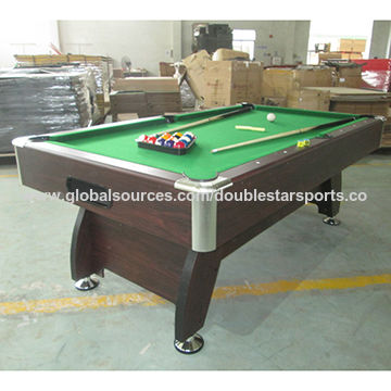 China Ft MDF Wooden Billiard Tables From Guangzhou Manufacturer - 7 ft billiard table