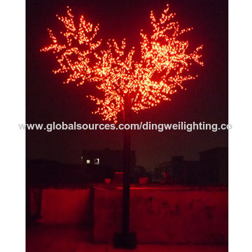 4m rgb led outdoor artificial cherry blossom tree lights global