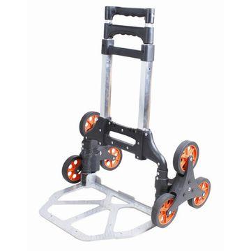 Foldable Shopping Cart Three Wheels Stair Climbing
