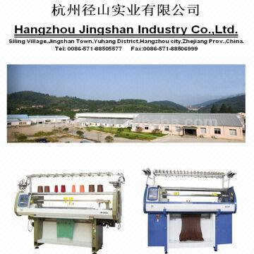 Computerized Flat Bed Knitting Machine 1 Stable Quality And