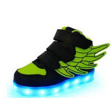 China Flashing Shoes, Simulation LED Shoes, Children's/Men's LED Shoes