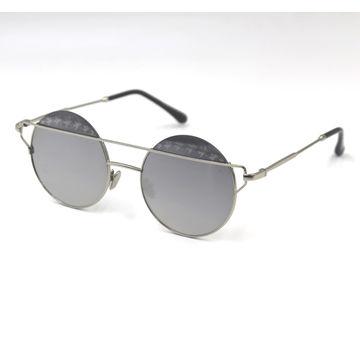 China Metal frame round lens fashion sunglasses