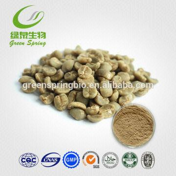 Pure Natural Free Sample Green Coffee Bean Extract Powder Global