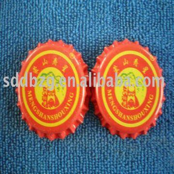 Crown bottle cap Tiplate and ferrochrome plated,widely used