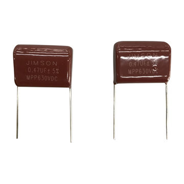 metalized polypropylene film capacitor radial leads of tinned metalized polypropylene film capacitor radial leads of tinned wire
