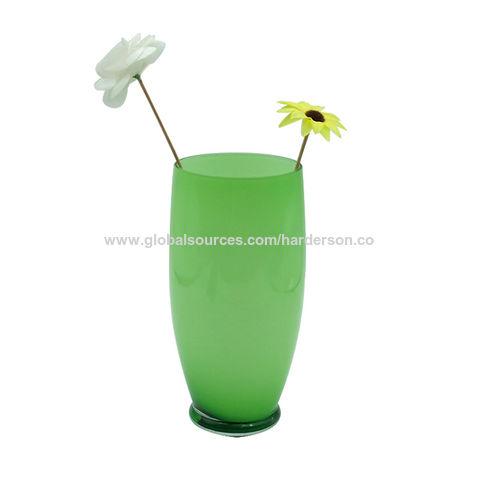 China Cased Glass Vase From Shenzhen Manufacturer Harderson Crafts
