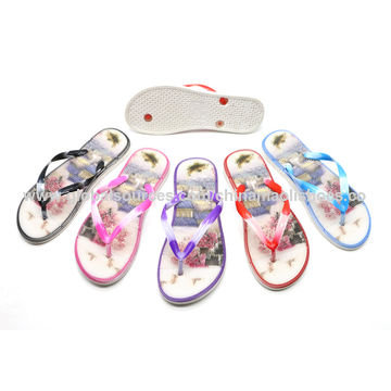 73796e386 China ladies summer beach sandals slippers from Zhanjiang Trading ...