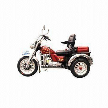 Disabled Motorcycle Trike with 110cc Displacement and 45kW