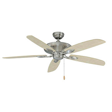 China 52 Inch Ceiling Fan No Lightwith Pull Chain Control And
