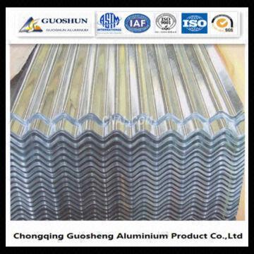 China Aluminium Low Price Metal Roofing Sheet Corrugated Sheet PE/PVDF  COATED
