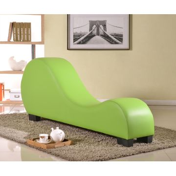 China Modern Leather Chaise Lounge Sofa