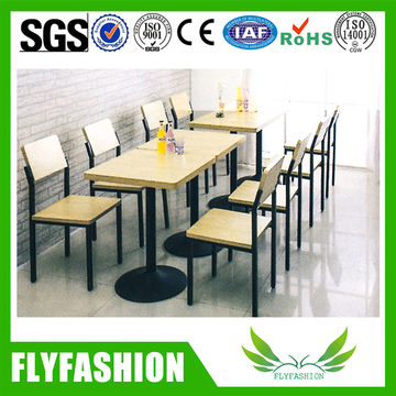 China Cheap Home Canteen Gear Furniture Square Dining Tables And Chair For Sale On Global Sources Dining Table Chairs Restaurant Furniture Dining Table