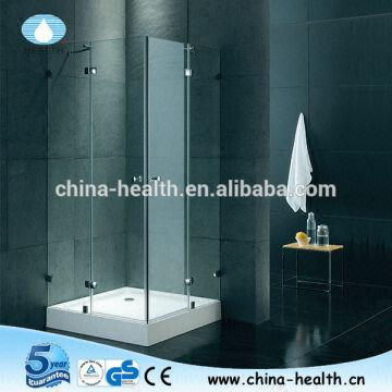Exceptionnel Square Hinge Double Shower Stall JK401 China Square Hinge Double Shower  Stall JK401