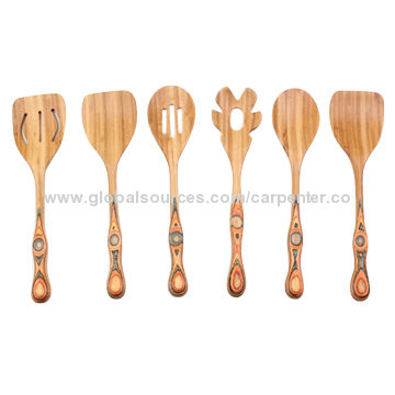 Delightful ... China Premium 6 Piece Bamboo Kitchen Utensils Set