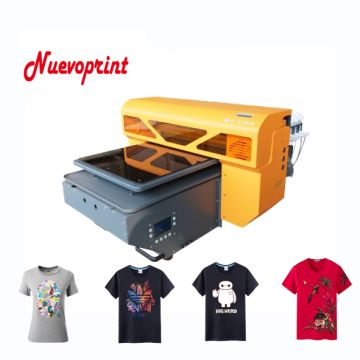 2018 Best High quality UV flatbed t shirt dtg