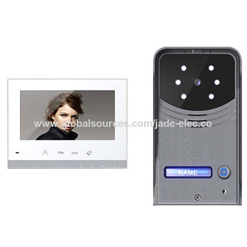 2 Wire Video Door Entry System With Open Delay Option Global Sources