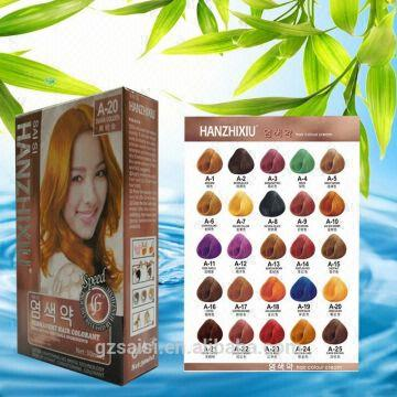 Hanzhixiu Hair Color Brand Names Copper Brown Hair Color