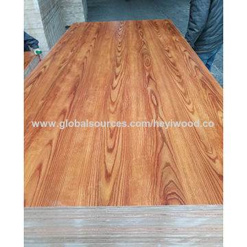 China Various Color Melamine Laminated Plywood With E0 Glue On