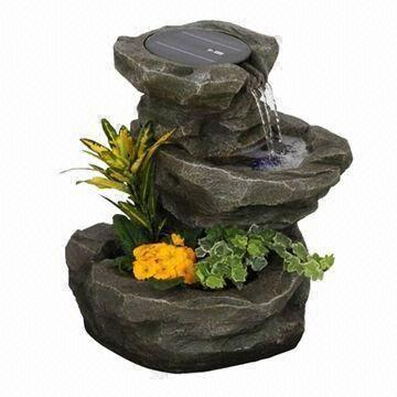Latest Design Solar Fountain, Used In Garden, Home, Park, Cafe And