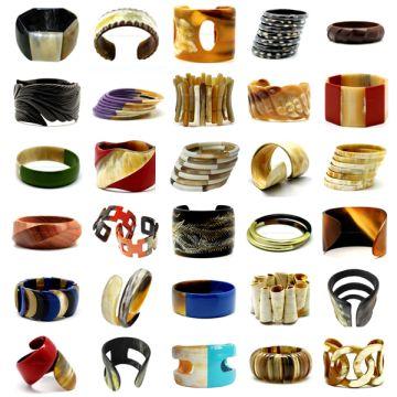 Vietnam Fashion Horn Jewelry Buffalo Bracelets 100 Natural Handmade