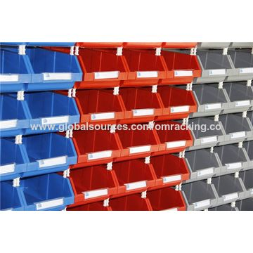 Accessory plastic work team small parts storage bin Global Sources