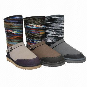 98dd488658a03f Snow boots with fashionable design