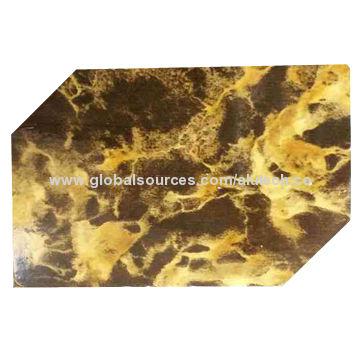 Marble pattern ACP
