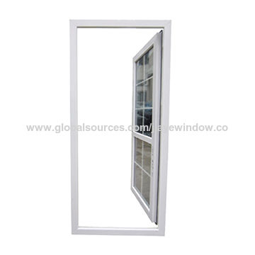 China High Quality Swing Opening Casement Pvc Exterior Door With