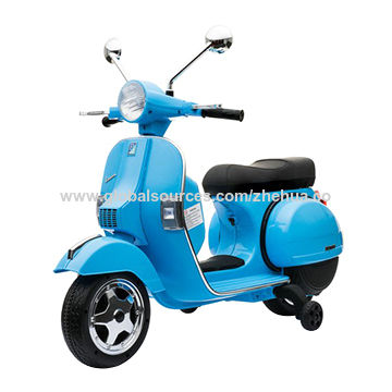 044c84bf2b0 China VESPA licensed ride on motorcycle,6v battery operated ride on  motorcycle, electric ride ...