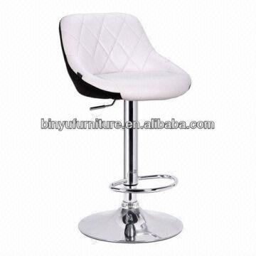 High Back Double Color Swivel Bar Chair Bar Stools China By 034