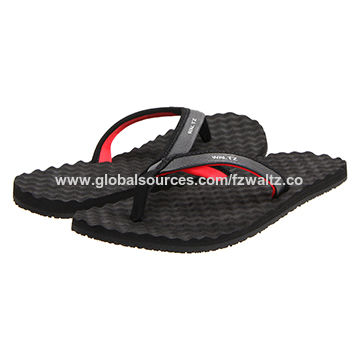 087b9773abbb China Fashion new style Men s flip flop with cotton fabric upper and EVA  sole ...