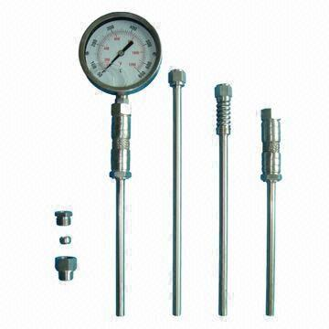 Industial Marine Exhaust Thermometer with Silicone Oil Filled