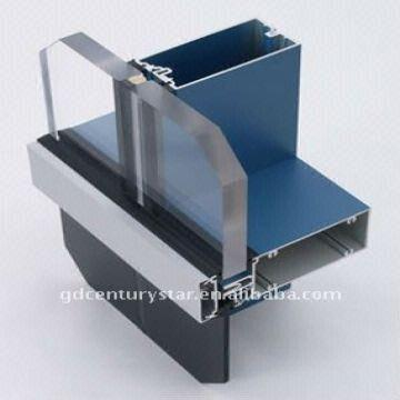 Visible Aluminum Frame Glass Curtain Wall Cladding | Global