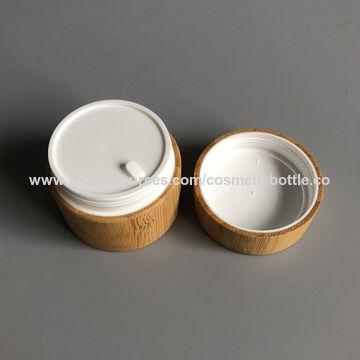 China wooden cosmetic jar from Xiamen Manufacturer: XIAMEN FINEPACK