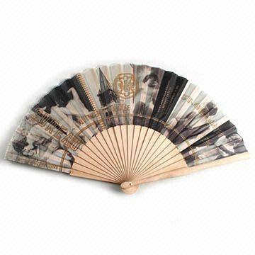 Spanish Handheld Fans Suitable For Promotional Purposes Made Of