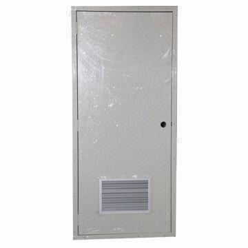 Metal Clad Door With Air Vent Suitable For Transportable