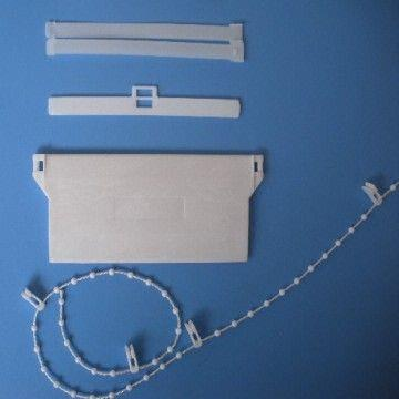 China 89mm 100mm Vertical Blind Bottom Weight Chain Top Hanger Spares Parts