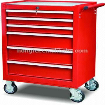 China Tool Box Metal Roller Storage Cabinet Heavy Duty