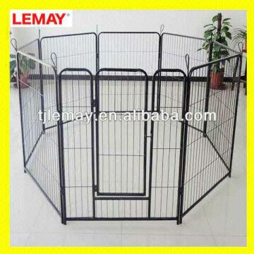 8 Panels Metal Wire Large Galvaised Kennel Panels | Global Sources