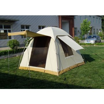 China Dome roof canvas material standard bow tent