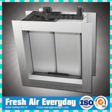 Manual ventilation aluminum air volum control damper 1 Hvac