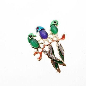 sélectionner pour le dédouanement nouvelle version achat authentique Perno animal de la broche de la moda del diamante artificial ...