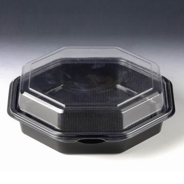 China Hexagonal Food Container Ideal Packaging Solution for Take